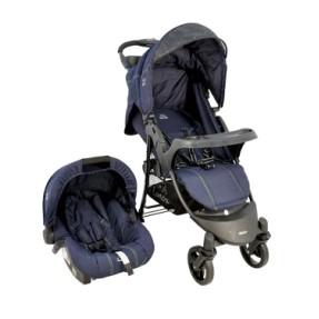 Carrinho de Bebê Travel System com Bebê Conforto Kiddo Omega 5203