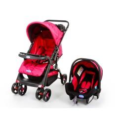 Carrinho de Bebê Travel System com Bebê Conforto Prime Baby Concord Max