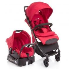 Carrinho de Bebê Travel System com Bebê Conforto Safety 1st Airway