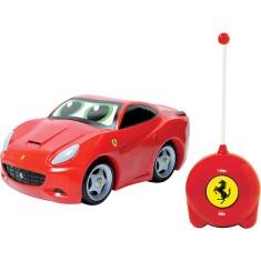 Carrinho de Controle Remoto DTC Ferrari Play & Go California