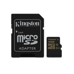 Cartão de Memória Micro SDHC-I com Adaptador Kingston 16 GB SDCA10/16GB