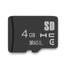 Cartão de Memória Micro SDHC Multilaser 4 GB MC144