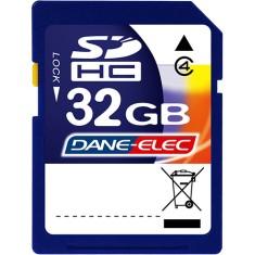 Cartão de Memória SDHC Dane-Elec 32 GB DA-SDCA32G-C