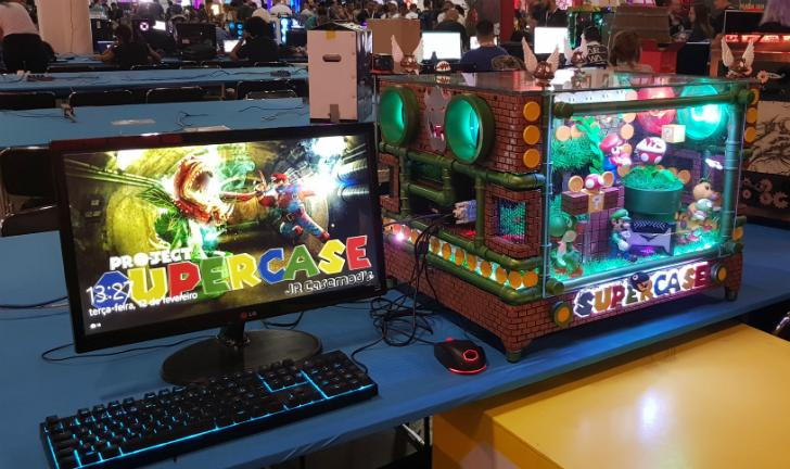 Casemods: PCs modificados roubam a cena na Campus Party 2019