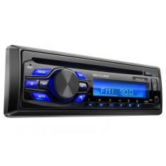Foto CD Player Automotivo Multilaser Freedom P3239 USB