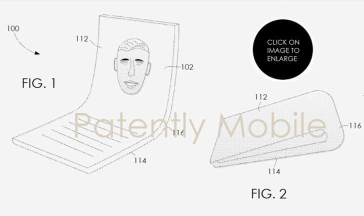 Celular dobrável: Google e ZTE registram patentes para smartphone flexível