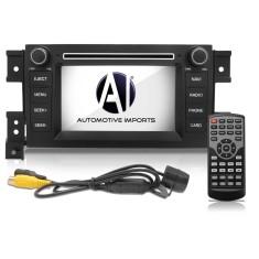 "Central Multimídia Automotiva Automotive Imports 7 "" Gran Vitara 2010/ 2011/ 2012 Touchscreen Entrada para camêra de ré"