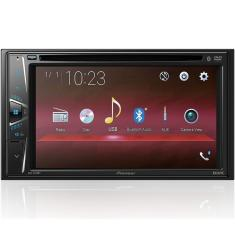 "Foto Central Multimídia Automotiva Pioneer 6 "" AVH-G218BT Touchscreen Bluetooth"