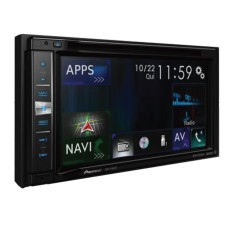 "Central Multimídia Automotiva Pioneer 6 "" AVIC-F980TV USB Bluetooth"