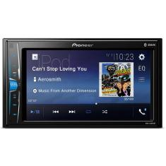 "Foto Central Multimídia Automotiva Pioneer 6 "" MVH-A208VBT Touchscreen USB"