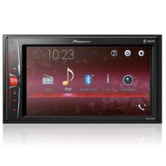 "Central Multimídia Automotiva Pioneer 6 "" MVH-A218BT Touchscreen USB"