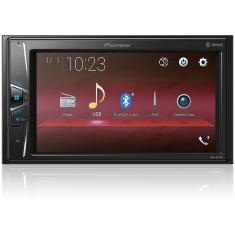 "Foto Central Multimídia Automotiva Pioneer 6 "" MVH-G218BT Touchscreen USB 