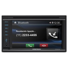 "Foto Central Multimídia Automotiva Pósitron 6 "" SP8520BT Touchscreen Bluetooth"