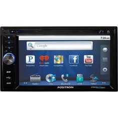 "Central Multimídia Automotiva Pósitron 6 "" SP8990 Touchscreen Bluetooth"