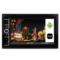 "Central Multimídia Automotiva Shutt 6 "" Las Vegas Bluetooth"