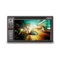 "Foto Central Multimídia Automotiva UCB Connect 6 "" UCB-DM362BT Touchscreen Entrada para camêra de ré"