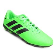 Chuteira Campo Adidas Nemeziz Messi 18.4 Infantil 35042388864ea