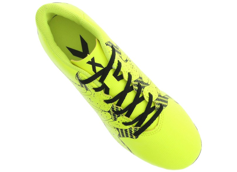 Chuteira Infantil Campo Adidas X 15.4 FG b536cdc2b3bfa