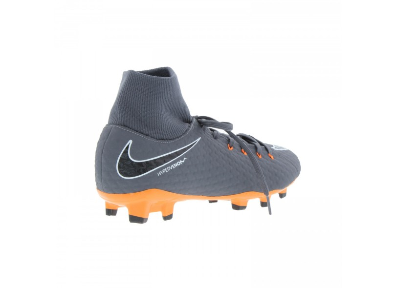 Chuteira Adulto Campo Nike Hypervenom Phantom 3 Academy DF FG 6a461e935bb00