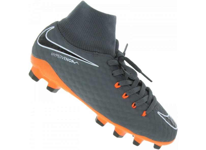 c4a5680d5083d Chuteira Infantil Campo Nike Hypervenom Phantom 3 Academy DF FG