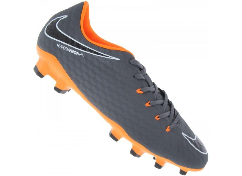 2f3d7e830c Chuteira Adulto Campo Nike Hypervenom Phantom 3 Academy FG