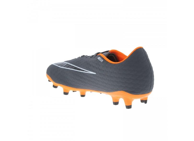 56b45751f Chuteira Adulto Campo Nike Hypervenom Phantom 3 Academy FG