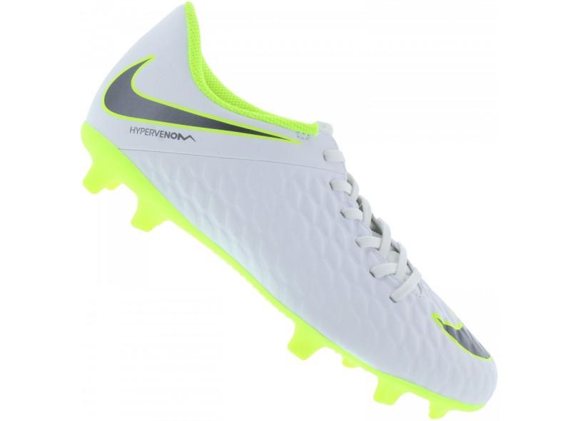 5b7bede6a7233 Chuteira Adulto Campo Nike Hypervenom Phantom 3 Club FG