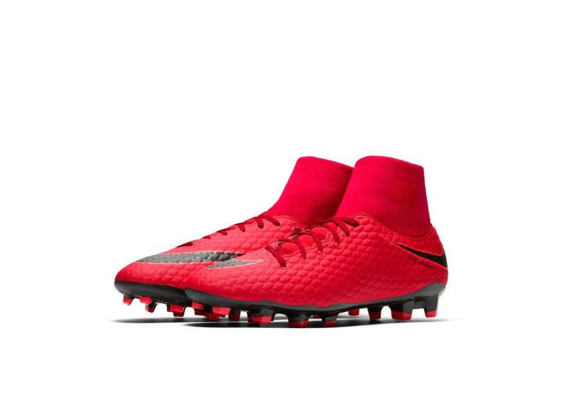 3f50a440c6dcf Chuteira Adulto Campo Nike Hypervenom Phelon III DF FG