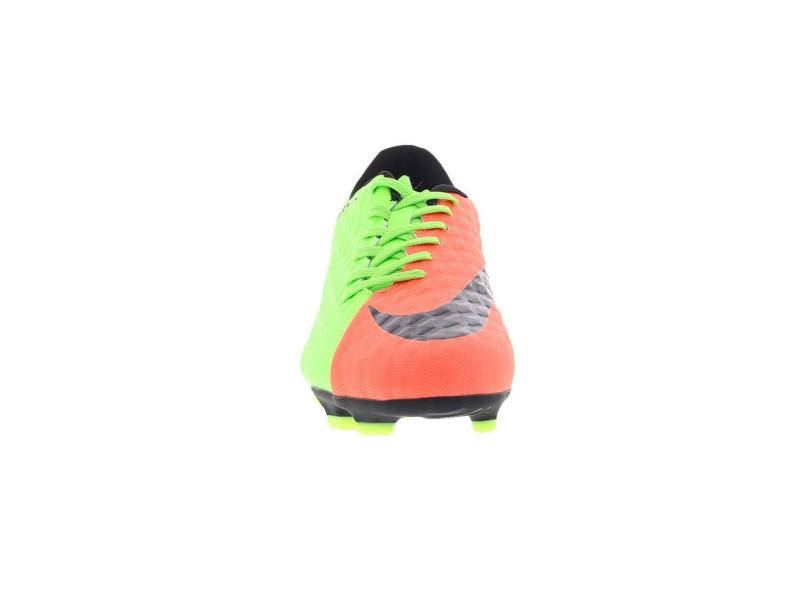 fb576845de Chuteira Adulto Campo Nike Hypervenomx Phade III