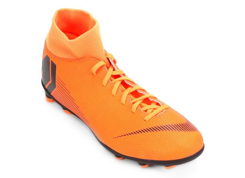 Chuteira Adulto Campo Nike Mercurial Superfly VI Club 2ce85ba3dc7bc