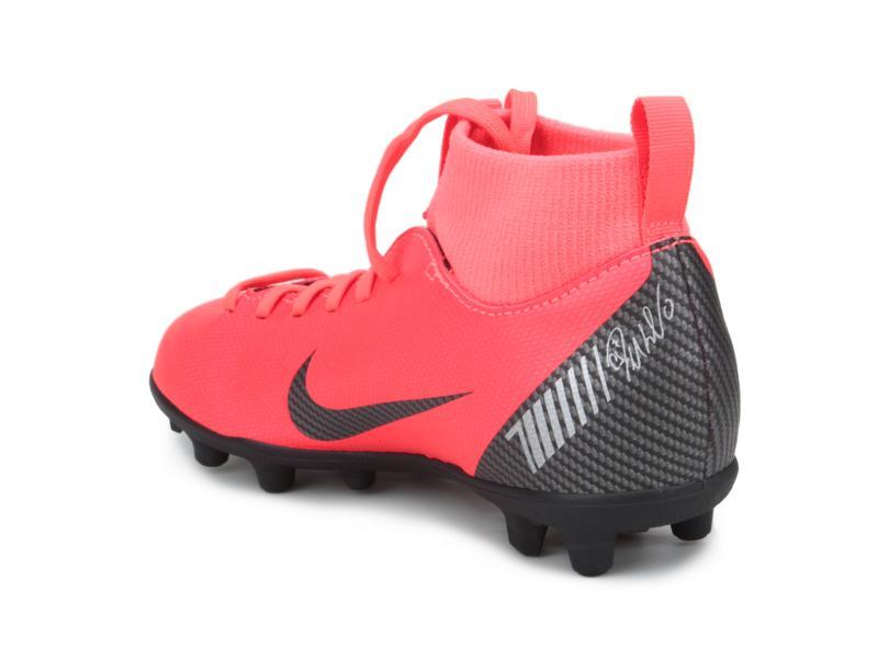 e3603f99bd336 Chuteira Infantil Campo Nike Mercurial Superfly VI Club CR7