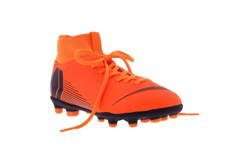 2e4fae4e89bdf Chuteira Infantil Campo Nike Mercurial Superfly VI Club