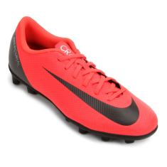 Chuteira Campo Nike Mercurial Vapor XII Club CR7 Adulto