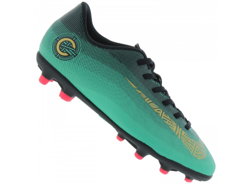 8897e280631aa Chuteira Infantil Campo Nike Mercurial Vapor XII Club CR7