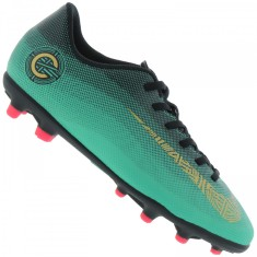 Chuteira Campo Nike Mercurial Vapor XII Club CR7 Infantil