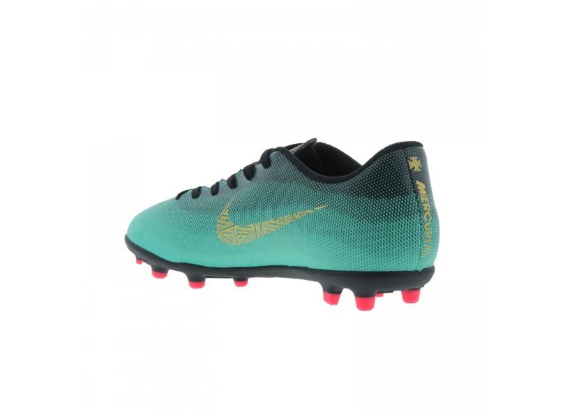 43a44c12e1323 Chuteira Infantil Campo Nike Mercurial Vapor XII Club CR7