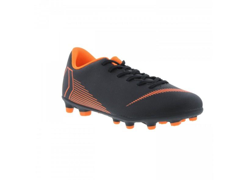 Chuteira Adulto Campo Nike Mercurial Vapor XII Club MG a2ca6682fc6da