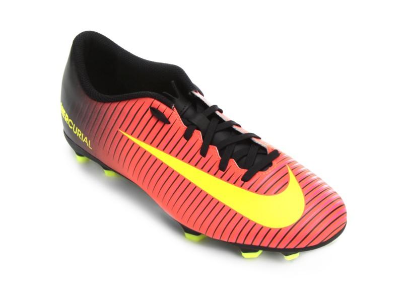 Chuteira Adulto Campo Nike Mercurial Vortex III FG 1c0ec485e38ff