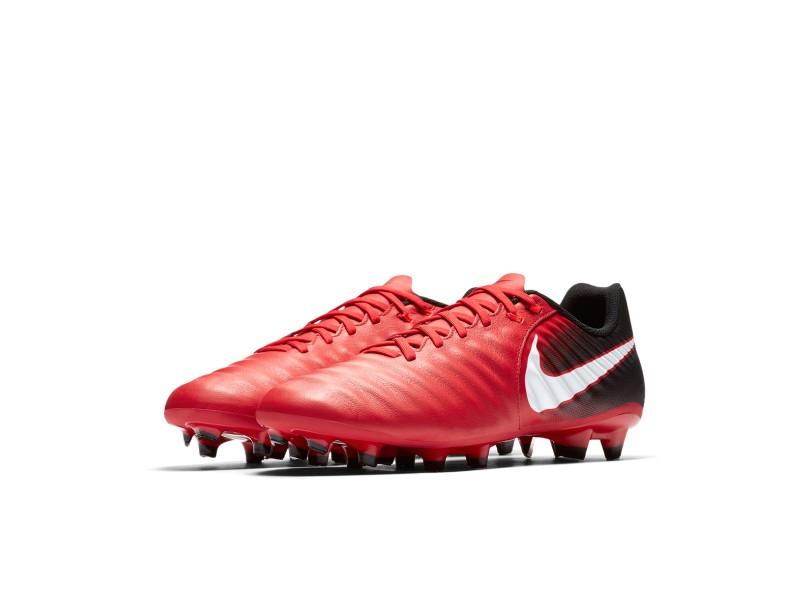 e51d589b39 Chuteira Adulto Campo Nike Tiempo Ligera 4 FG