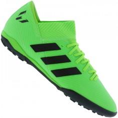 Chuteira Society Adidas Nemeziz Messi 18.3 Infantil 6cbf36299a17d