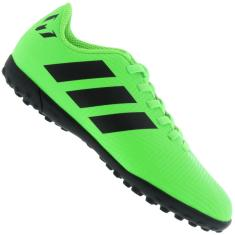 Chuteira Society Adidas Nemeziz Messi Tango 18.4 Infantil dbd6043181f60