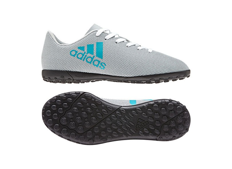 Chuteira Infantil Society Adidas X 17.4 TF 30db518ee67b2