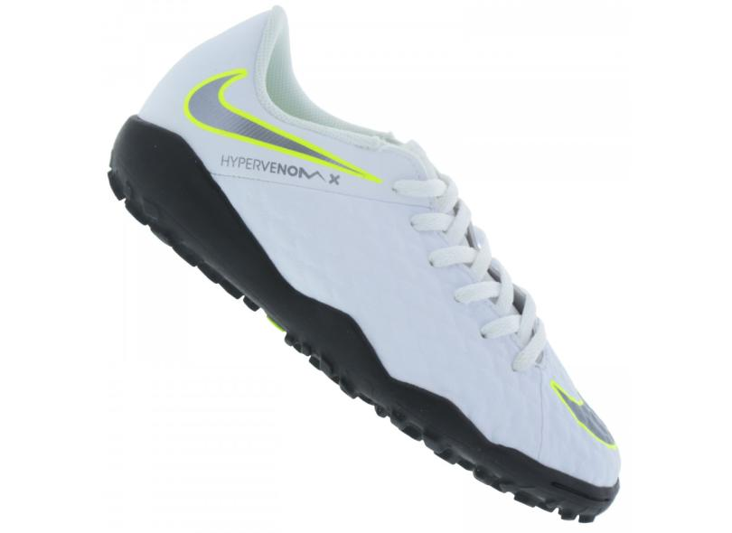 Chuteira Infantil Society Nike HypervenomX Phantom 3 Academy a4aef2a4547c0