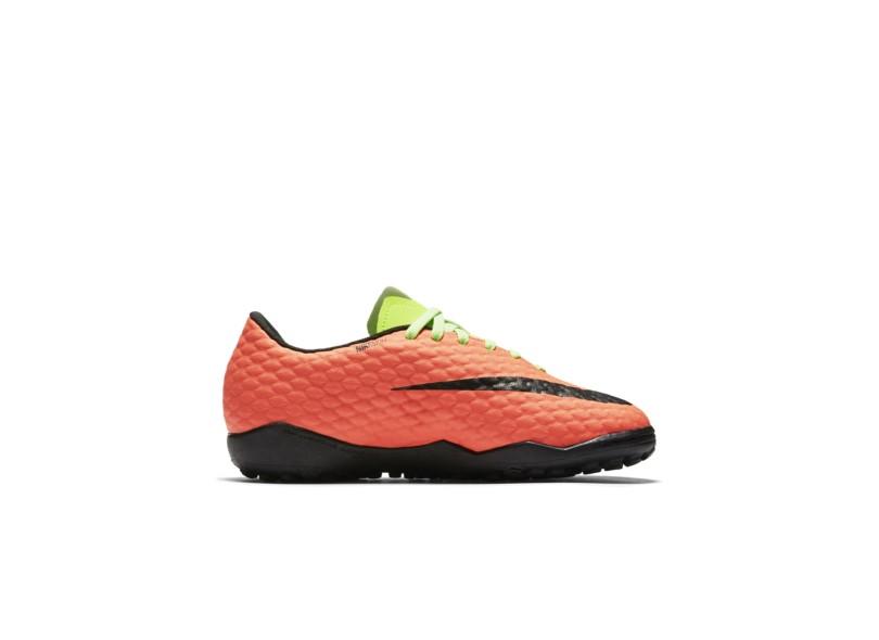 Chuteira Infantil Society Nike HypervenomX Phelon III b7fb8872e8093