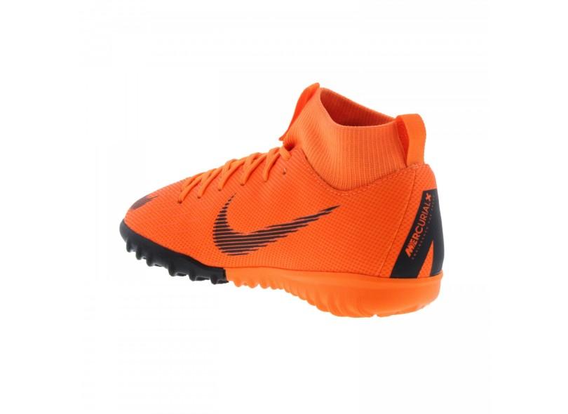 Chuteira Infantil Society Nike Mercurialx Superfly VI Academy 6134f9503f301