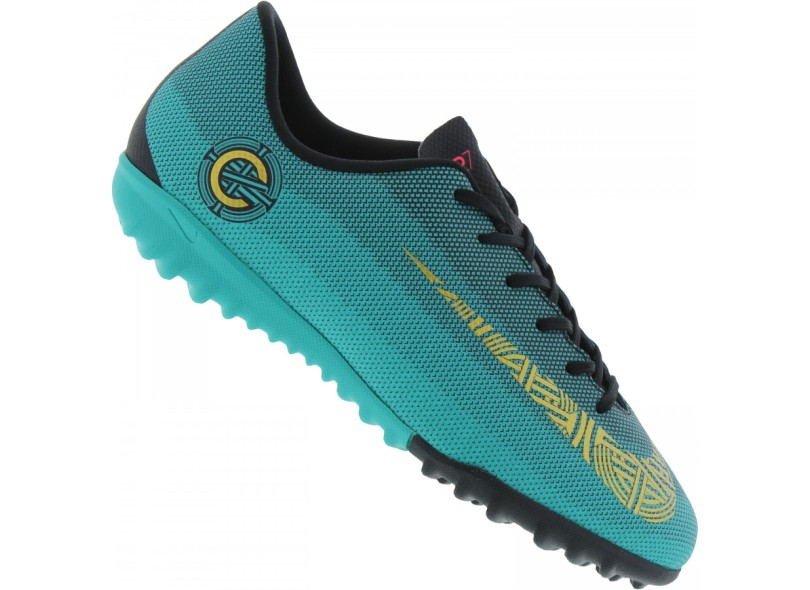 the latest 97b76 10ed0 Chuteira Infantil Society Nike MercurialX Vapor XII Academy ...