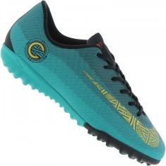 Chuteira Society Nike MercurialX Vapor XII Academy CR7 Infantil