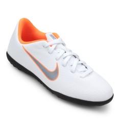 Chuteira Society Nike Mercurialx Vapor XII Club Infantil