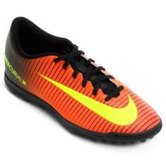 Chuteira Society Nike MercurialX Vortex III TF Adulto