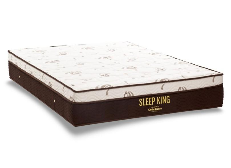 8ed427166 Colchão Casal Ortobom Molas Ensacadas Pocket Sleep King